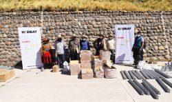Chumbivilcas: Hudbay financió la instalación de paneles fotovoltaicos en Qollana Alta, Livitaca