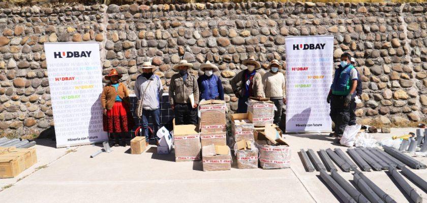 Chumbivilcas Hudbay financió la instalación de paneles fotovoltaicos en Qollana Alta, Livitaca