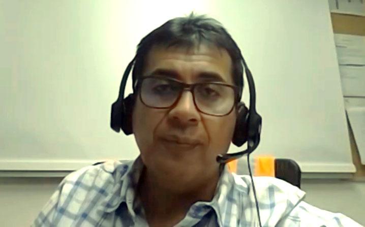 Manuel Cadenas, Gerente de Operaciones de Relaves y Aguas de la Sociedad Minera Cerro Verde