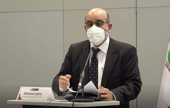 Mariano Castro, viceministro de Gestión Ambiental
