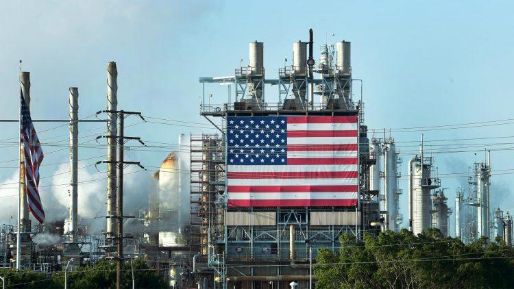 Producción de petróleo de Estados Unidos