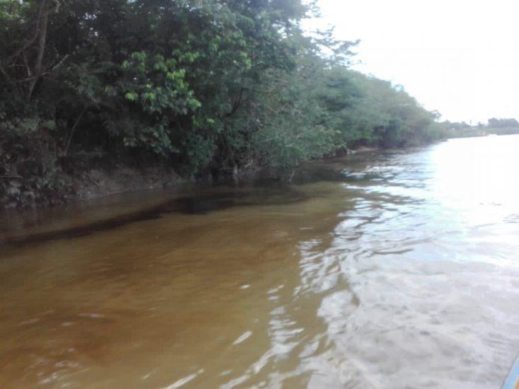Derrame de petróleo en el Lote 8 del ONP que discurrió en el río Corrientes, cerca a la localidad de Trompeteros, provincia de Loreto-Nauta.