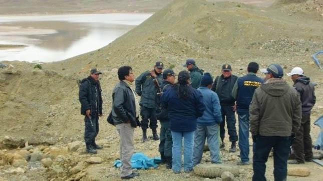 minería ilegal en Ananea