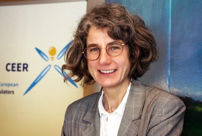 Annegret Groebel, presidenta del Consejo Europeo de Reguladores de Energía (CEER)