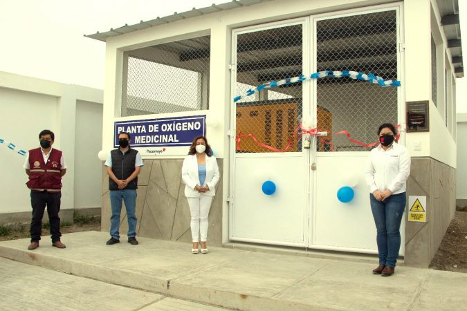 Cementos Pacasmayo entrega planta de oxígeno medicinal al Hospital MINSA de Pacasmayo