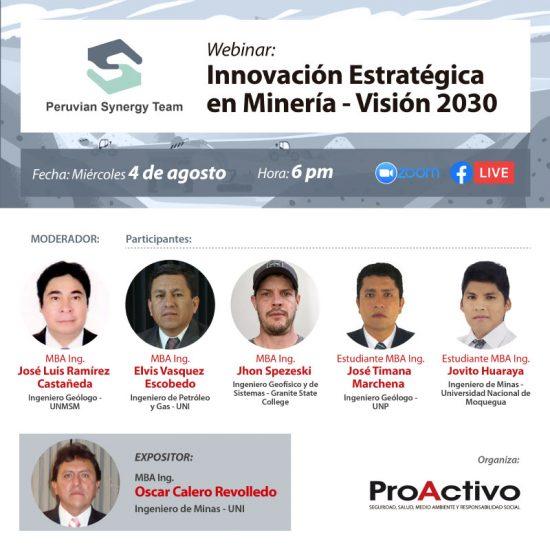 Innovación Estratégica en Minería - Visión 2030