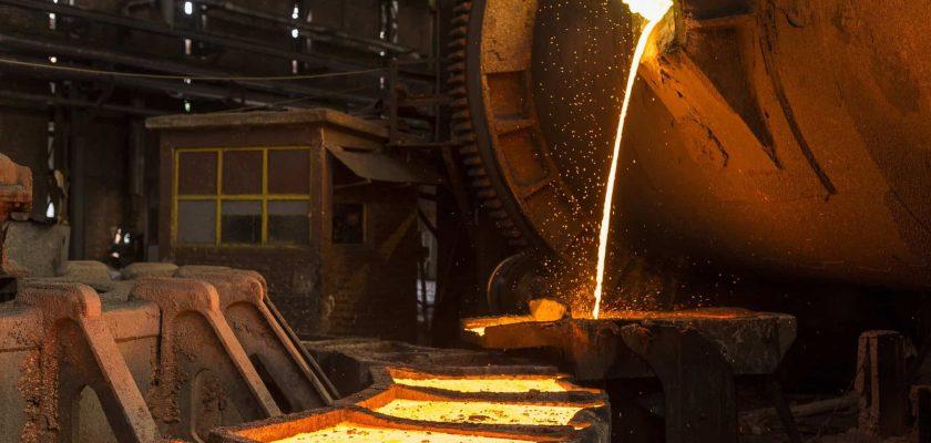 fundición de cobre
