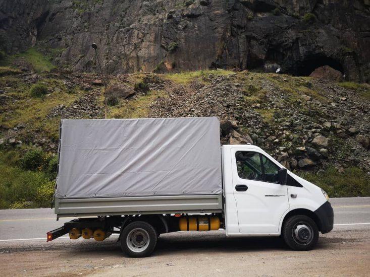 Camiones de última milla con GNV