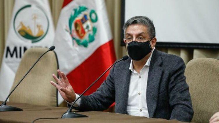 Iván Merino, ministro de Energía y Minas