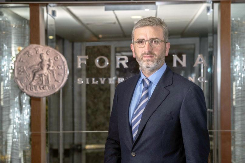 Jorge A. Ganoza, presidente y CEO de Fortuna Silver Mines.
