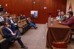 Ministro Merino se reunió con dirigentes de la pequeña minería y la minería artesanal