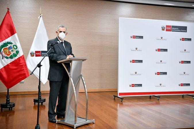 Pedro Francke, ministro de Economía y Finanzas