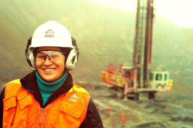 ingeniera de minas en Antamina