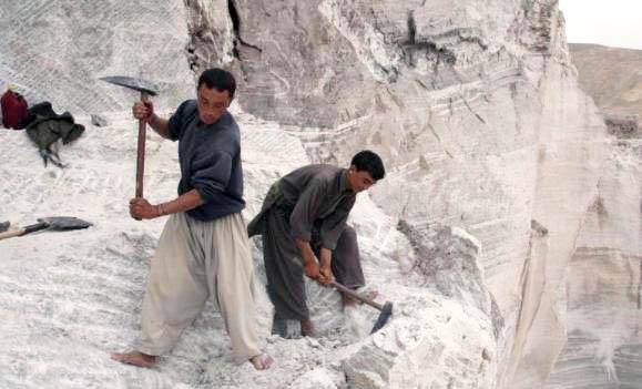 minería en Afganistán