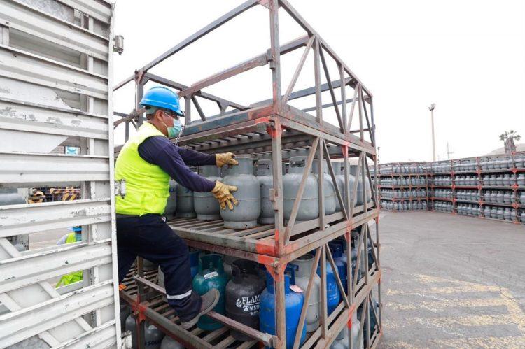 Balón de gas GLP en Perú