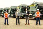 Cruz del Sur adquiere flota Volvo para transporte institucional en sector minero