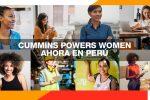 Cummins Perú apoya la educación de niñas y adolescentes a través de Cummins Powers Women