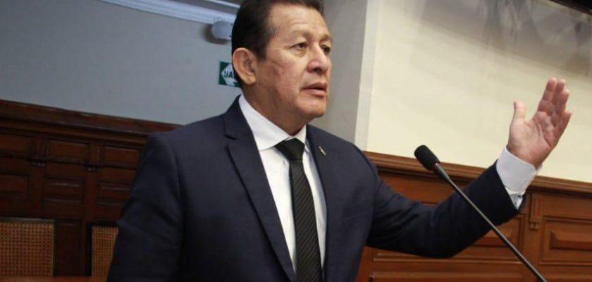 Eduardo Salhuana, Congresista de la República por Madre de Dios