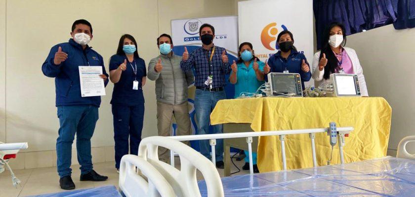 Gold Fields dona camas al Hospital Simón Bolívar de Cajamarca