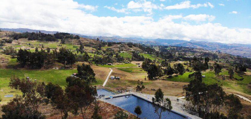 Newmont Yanacocha 125 familias del caserío Barrojo ya cuentan con agua todo el año