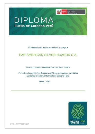 DiplomaN3_HCPeru HUARON
