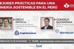 Mejores prácticas para una minería sostenible en el Perú (Miércoles 10 de noviembre | 9am)