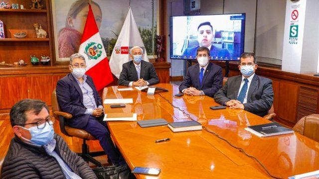 Ministro Eduardo González Toro anuncia reorganización del MINEM