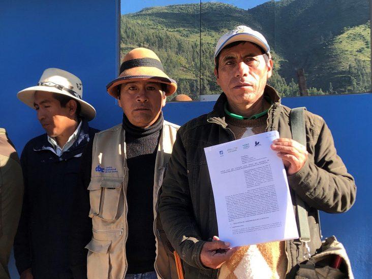 Cotabambas: Comuneros advierten un paro si Pedro Castillo no les responde por conflicto con Las Bambas - Víctor Limaypuma